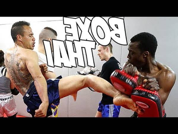 boxe francaise kick boxing difference